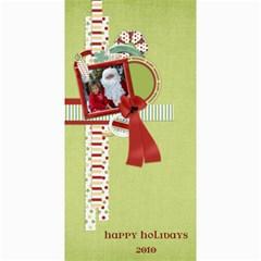 Happy Holidays 4x8 Card 1002 By Lisa Minor   4  X 8  Photo Cards   F1om1kfysgj5   Www Artscow Com 8 x4 Photo Card - 6