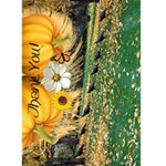 Thank You! (After Thanksgiving) Card 5x7 - Greeting Card 5  x 7