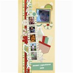 Happy Holidays 8x4 Card 1005 - 4  x 8  Photo Cards
