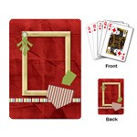 Happy Holidays Playing Cards 1001 - Playing Cards Single Design
