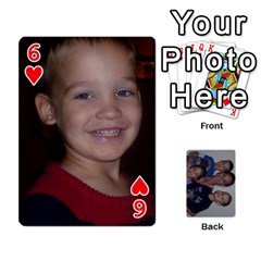 Daddys Cards By Kayla   Playing Cards 54 Designs   9x3goo7ndbd6   Www Artscow Com Front - Heart6
