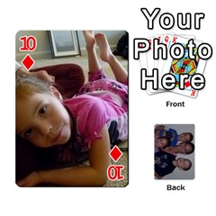 Daddys Cards By Kayla   Playing Cards 54 Designs   9x3goo7ndbd6   Www Artscow Com Front - Diamond10