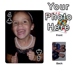 Daddys Cards By Kayla   Playing Cards 54 Designs   9x3goo7ndbd6   Www Artscow Com Front - Club4
