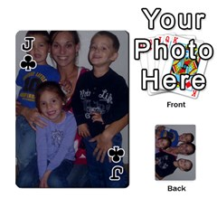 Jack Daddys Cards By Kayla   Playing Cards 54 Designs   9x3goo7ndbd6   Www Artscow Com Front - ClubJ