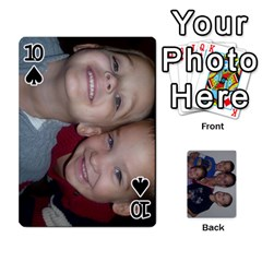 Daddys Cards By Kayla   Playing Cards 54 Designs   9x3goo7ndbd6   Www Artscow Com Front - Spade10