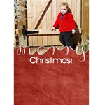 {ScrapDZines} Christmas Card 2 - Greeting Card 5  x 7