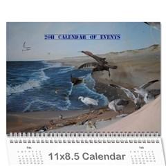 Denise s Calendar By Shawna   Wall Calendar 11  X 8 5  (12 Months)   5yylyootweys   Www Artscow Com Cover