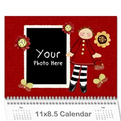Lil Missy Cal1 By Lillyskite   Wall Calendar 11  X 8 5  (12 Months)   Fcmbd0408ptb   Www Artscow Com Cover
