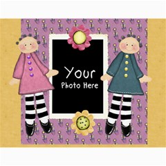 Lil Missy Cal1 By Lillyskite   Wall Calendar 11  X 8 5  (12 Months)   Fcmbd0408ptb   Www Artscow Com Month