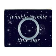 A Star Is Born Twinkle Twinkle Little Star Cosmetic Bag Xl By Catvinnat   Cosmetic Bag (xl)   5a9m07bzy3sv   Www Artscow Com Back
