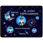 Expelliarmus Wizard Words Extra Large Magic Fleece - Fleece Blanket (Large)
