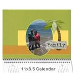 linda rick calendar - Wall Calendar 11  x 8.5  (12-Months)