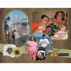 Linda Rick Calendar By Amanda   Wall Calendar 11  X 8 5  (12 Months)   Vqumru6rvpux   Www Artscow Com Month