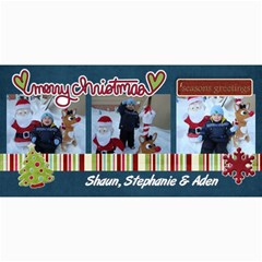 Christmas Card 2010 By Steph   4  X 8  Photo Cards   Bjg8bn7tpgcg   Www Artscow Com 8 x4 Photo Card - 1