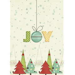 Joy Christmas Greeting Card By Sheena   Greeting Card 5  X 7    Fkjwgd6n8l0d   Www Artscow Com Front Cover