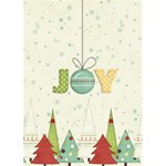 Joy Christmas Greeting Card - Greeting Card 5  x 7