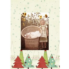 Joy Christmas Greeting Card By Sheena   Greeting Card 5  X 7    Fkjwgd6n8l0d   Www Artscow Com Front Inside