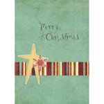Holly Jolly Christmas Greeting Card - Greeting Card 5  x 7