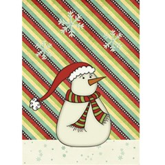 White Christmas Greeting Card By Sheena   Greeting Card 5  X 7    Ll78igqelt9q   Www Artscow Com Front Cover