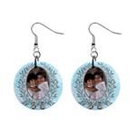 earrings - 1  Button Earrings