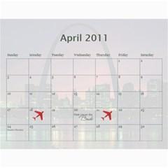 Christine Xmas Calendar Present By Tami Kos   Wall Calendar 11  X 8 5  (12 Months)   47tyiq5pcfj9   Www Artscow Com Apr 2011