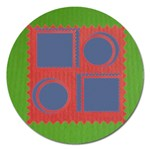 Family Christmas magnet - 5   - Magnet 5  (Round)