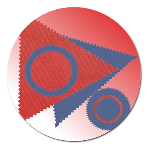Shapes Magnet   5   By Daniela   Magnet 5  (round)   Mm2bl53fbyns   Www Artscow Com Front