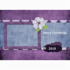 Lavender Rain Card 101 By Lisa Minor   5  X 7  Photo Cards   5j3bix3xnr2w   Www Artscow Com 7 x5 Photo Card - 4