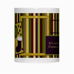 All I Want For Christmas Mug 101 By Lisa Minor   White Mug   Ss020a19hzei   Www Artscow Com Center