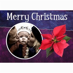 Christmas Cards By Carmensita   5  X 7  Photo Cards   Ozsh6flf35fw   Www Artscow Com 7 x5 Photo Card - 3