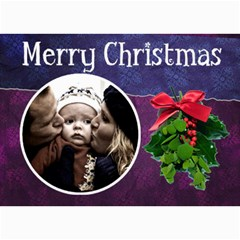 Christmas Cards By Carmensita   5  X 7  Photo Cards   Ozsh6flf35fw   Www Artscow Com 7 x5 Photo Card - 5