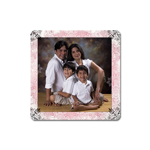 Family Magnet By Ivelyn   Magnet (square)   Xso439i4nsf0   Www Artscow Com Front