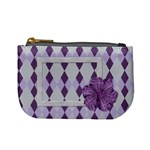Lavender Rain Coin Purse 101 - Mini Coin Purse