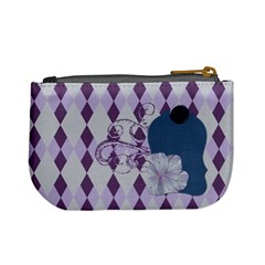 Lavender Rain Coin Purse 101 By Lisa Minor   Mini Coin Purse   Fc9t4myh2u0r   Www Artscow Com Back