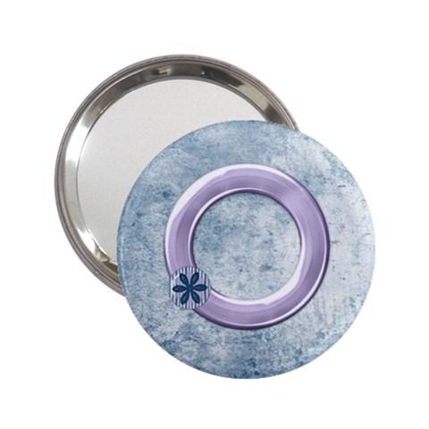 Lavender Rain Mirror 101 By Lisa Minor   2 25  Handbag Mirror   Qzp8rronblla   Www Artscow Com Front