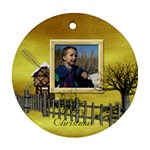 Botanical Wonderland Ornament 101 - Ornament (Round)
