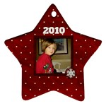 All I want for Christmas star ornament 1 side - Ornament (Star)