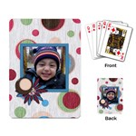 kalendar - Playing Cards Single Design