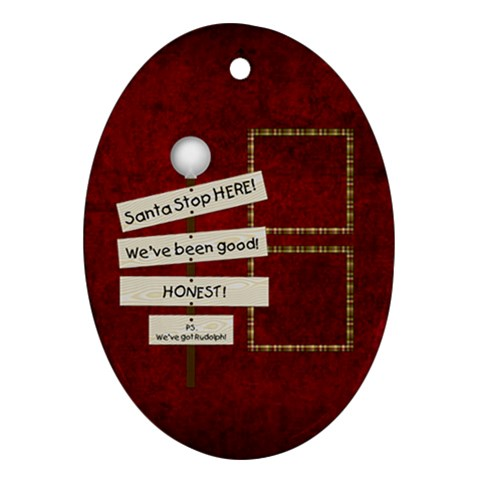 Oval Ornament 101 By Lisa Minor   Ornament (oval)   N60x6v8p2b9p   Www Artscow Com Front