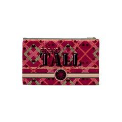 Girl Power Cosmetic Bag Small By Lisa Minor   Cosmetic Bag (small)   9z40ejwc2hju   Www Artscow Com Back