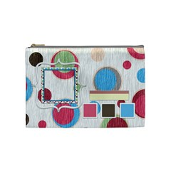 Bloop Bleep Cosmetic Bag Medium By Lisa Minor   Cosmetic Bag (medium)   K6mmpn4hw4mt   Www Artscow Com Front