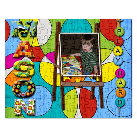 Mason Puzzle By Linda   Jigsaw Puzzle (rectangular)   87jykyy21coy   Www Artscow Com Front