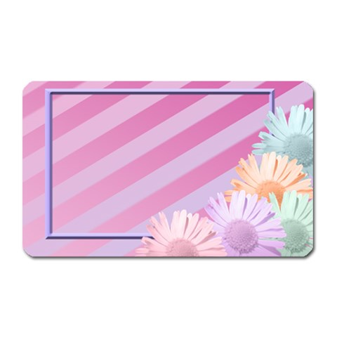 Flowers Magnet By Add In Goodness And Kindness   Magnet (rectangular)   Gb9so94b28bx   Www Artscow Com Front