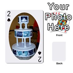 Anniversary By Cathy   Playing Cards 54 Designs   L95hz88o91ac   Www Artscow Com Front - Spade2