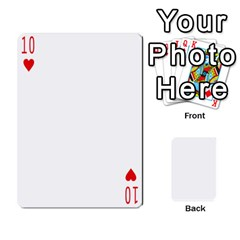Anniversary By Cathy   Playing Cards 54 Designs   L95hz88o91ac   Www Artscow Com Front - Heart10