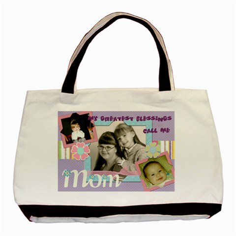 Heather s Purse By Anna Marie   Basic Tote Bag   30lymdwq2ulb   Www Artscow Com Front