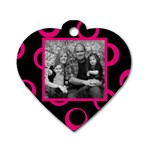 Heart Wild Family - Dog Tag Heart (Two Sides)