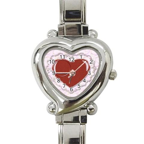 Heart You By Daniela   Heart Italian Charm Watch   I5y8kg0cq2gx   Www Artscow Com Front