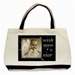 Wish upon a star tote bag - Basic Tote Bag (Two Sides)