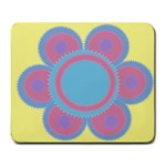My flower - Large Mousepad
